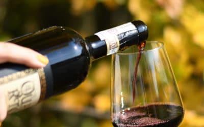 Wino najesień: wino dodań zgrzybami